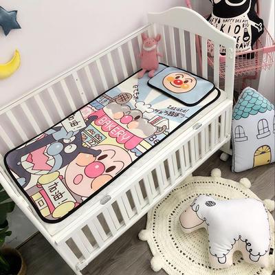 2019新款 婴儿冰丝席 60*120cm(2件套)枕套含荞麦芯 面包超人