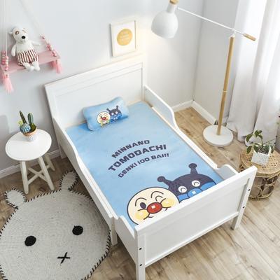 2019新款 婴儿冰丝席 60*120cm(2件套)枕套含荞麦芯 面包怪兽