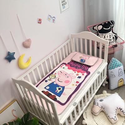 2019新款 婴儿冰丝席 60*120cm(2件套)枕套含荞麦芯 跳泥坑