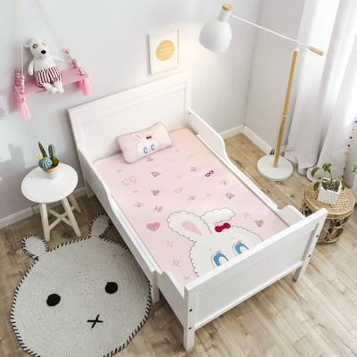 2019新款 婴儿冰丝席 60*120cm(2件套)枕套含荞麦芯 兔子