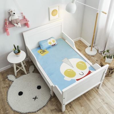 2019新款 婴儿冰丝席 60*120cm(2件套)枕套含荞麦芯 咸蛋超人
