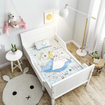 2019新款 婴儿冰丝席 60*120cm(2件套)枕套含荞麦芯 小公主