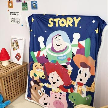 2019新款儿童羊羔绒毛毯