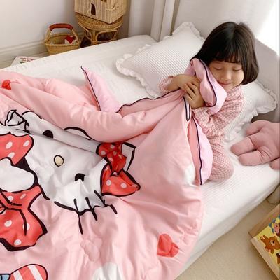 2019新款儿童冬被 120x150cm 3斤 草莓猫