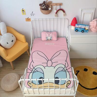 2020新款婴儿冰丝席2件套 枕套含荞麦芯 60*120 黛西