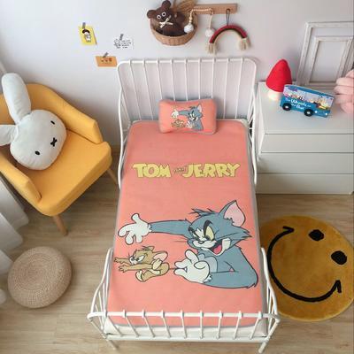 2020新款婴儿冰丝席2件套 枕套含荞麦芯 60*120 猫和老鼠