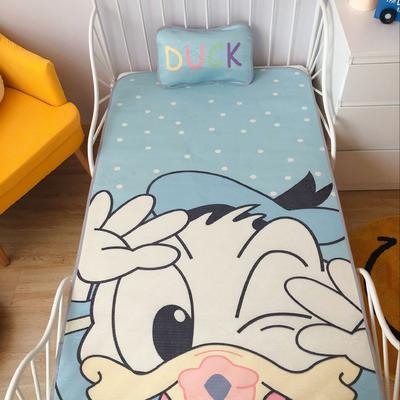 2020新款婴儿冰丝席2件套 枕套含荞麦芯 60*120 唐老鸭
