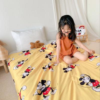 2020新款儿童水洗莫代尔夏被 120x150cm单夏被 米老鼠