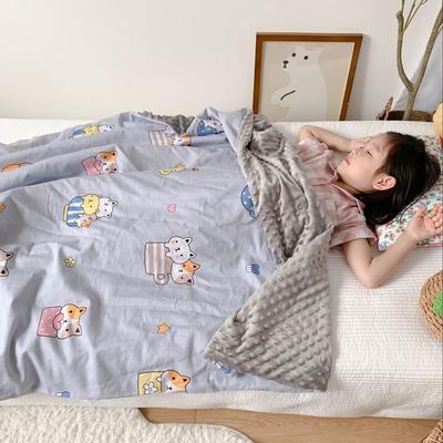 2020新款豆豆毯 80*120cm 猫咪