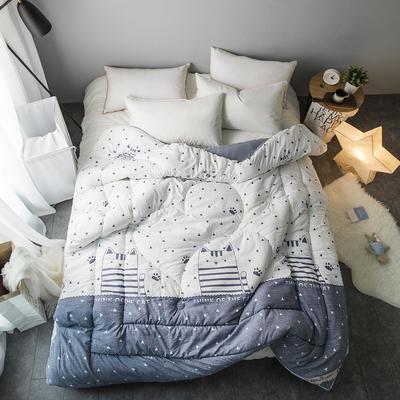 水洗棉清新冬被 150*200   4斤 妙趣