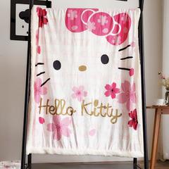 2018水晶绒卡通毛毯 80cmX120cm kitty