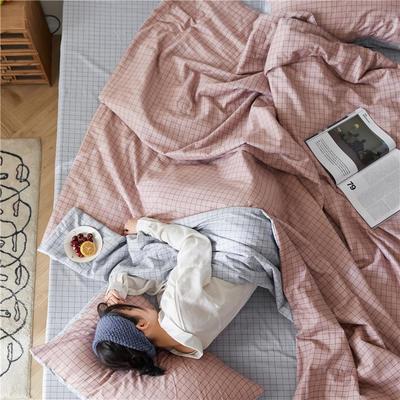 2020新款全棉印花夏被四件套三件套 48X74cm枕套/对 格调