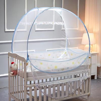 2019年儿童蚊帐(小太阳免安装婴儿蚊帐) 160*80cm 蓝色