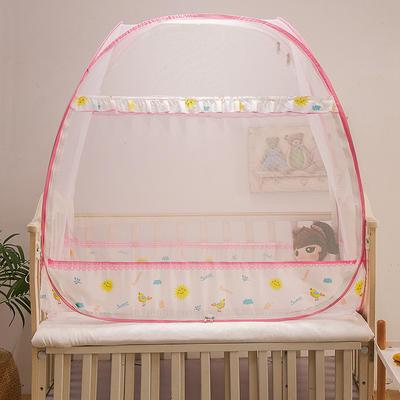 2020新款-婴儿UN双开门小太阳 160*80cm 小太阳粉色