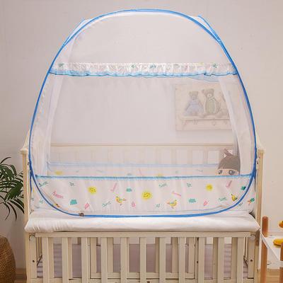 2020新款-婴儿UN双开门小太阳 160*80cm 小太阳蓝色