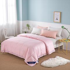 80S全棉韩版夏被 2.0*2.3m 粉色