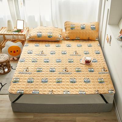 2020新款针织棉夹棉软床垫 1.2*2.0cm 梦想
