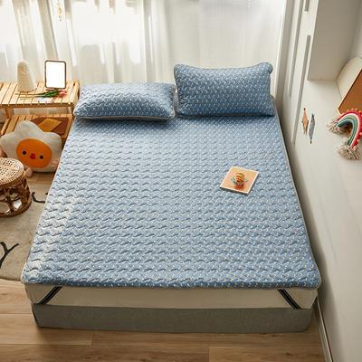 2020新款针织棉夹棉软床垫 1.2*2.0cm 音符