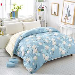 2018新款12868全棉单品被套系列 1.8m 如梦花季-兰