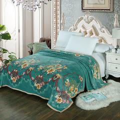 赋雅家纺 双面绒毯子超柔加厚云貂绒毛毯法莱绒毛毯 床单盖毯 70cmX100cm随机花型 数量有限 塞纳舞曲