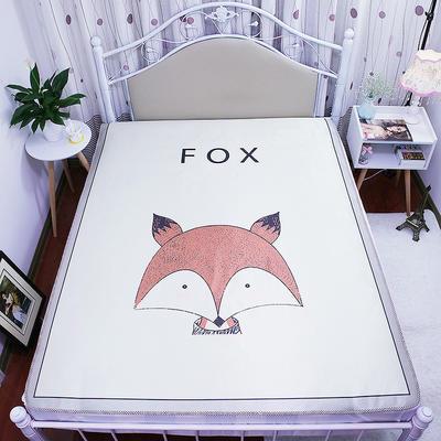 2019 大版数码印花冰丝席 120*200cm FOX