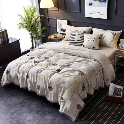 双面绒毯子超柔加厚云貂绒毛毯法莱绒毛毯 床单盖毯 70X100cm随机花型 米兰梦境