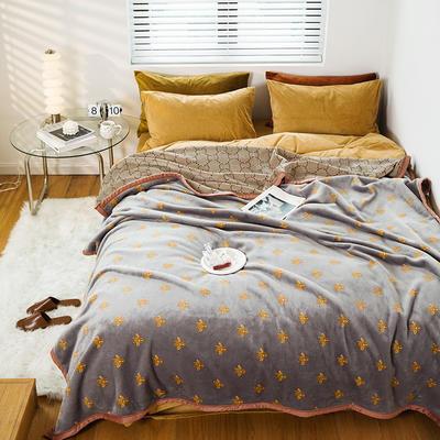 2020新款轻奢系列毛毯 180cmx200cm 格拉蒙