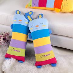 水洗棉卡通小兔枕头22 蓝
