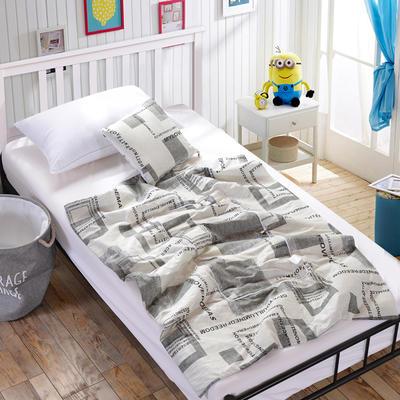 全棉印花抱枕被新增花型系列 小号(40*40展开105*150) 爱的时光