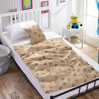 全棉印花抱枕被新增花型系列 小号(40*40展开105*150) 卡斯诺