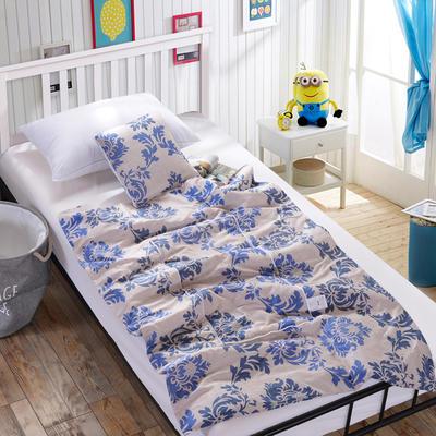 全棉印花抱枕被新增花型系列 小号(40*40展开105*150) 异域风情