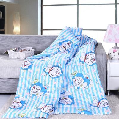 2021新款全棉印花抱枕被系列 大号50*50展开150*195cm) 哆啦A梦