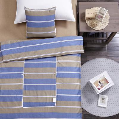 全棉印花抱枕被系列 小号(40*40展开105*150cm) 英伦格调