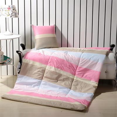 优舒绒印花抱枕被系列 小号(40*40展开100*150cm) 畅想时空