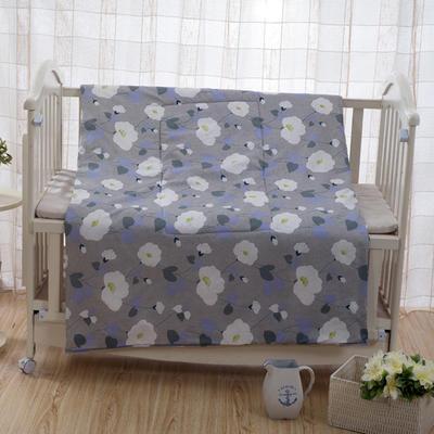 优舒绒印花抱枕被系列 小号(40*40展开100*150cm) 花叶寄情