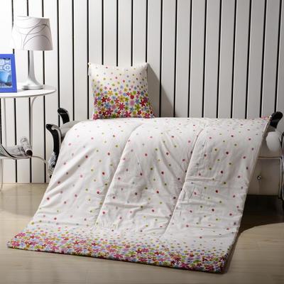 优舒绒印花抱枕被系列 小号(40*40展开100*150cm) 星星点点