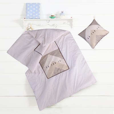 数码印花抱枕被系列 小号(40*40展开100*150cm) 加油少年