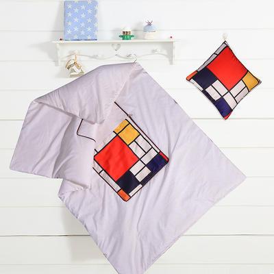 2020新款数码印花抱枕被系列 小号(40*40展开100*150cm) 色调
