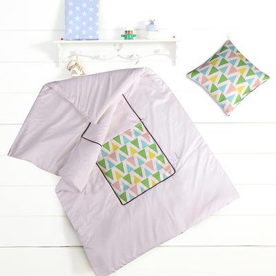 数码印花抱枕被系列 小号(40*40展开100*150cm) 五彩斑斓