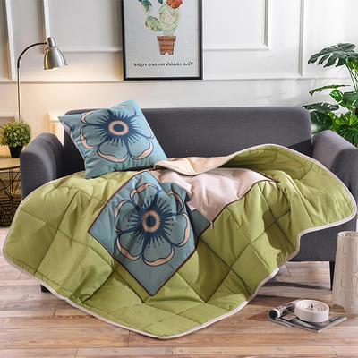 棉麻抱枕被系列 (45*45展开115*150cm) 布拉格