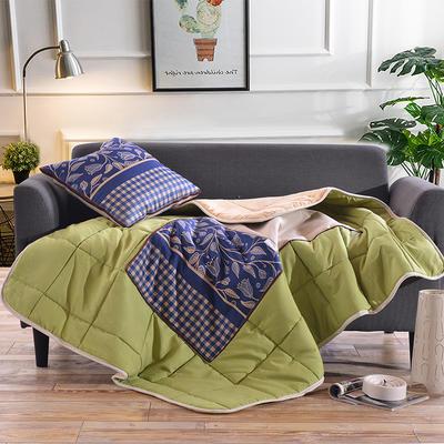 棉麻抱枕被系列 (45*45展开115*150cm) 古典风