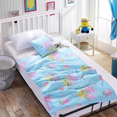 全棉印花抱枕被系列 小号(40*40展开105*150cm) 小猪佩奇