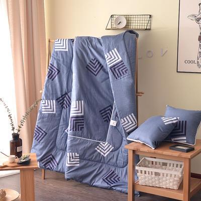 全棉印花抱枕被系列 小号(40*40展开105*150cm) 觉醒