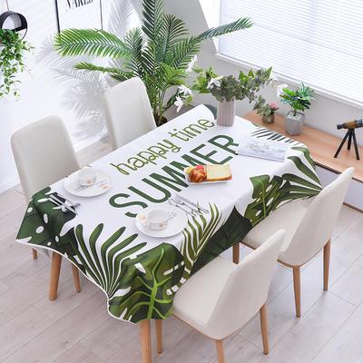 2020新款-ins风防水桌布 40*60/一对 快乐一夏