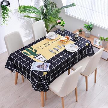 2019新款-ins风防水桌布