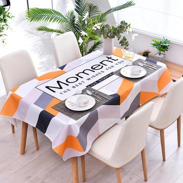 2020新款-ins风防水桌布