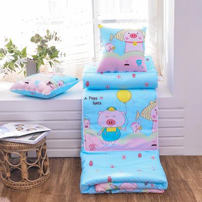 2020新款优舒绒印花抱枕被系列 小号(40*40展开100*150cm) 可爱小猪
