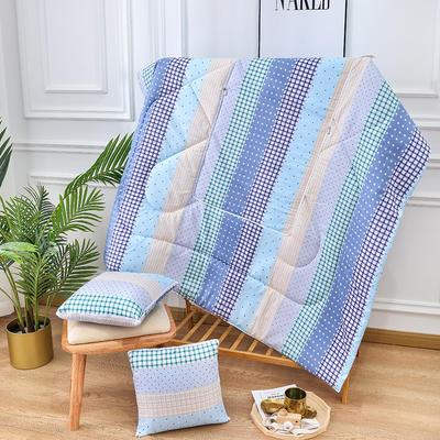 2020新款优舒绒印花抱枕被系列 小号(40*40展开100*150cm) 时尚风采