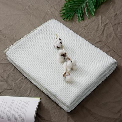 2018新品 天竺棉针织棉夏被子 全棉夏凉被 纯棉儿童空调被 1.5*2.0m 点点绿色