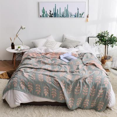 2019新款-竹纤维空调毯夏被 150x200cm/条 麦穗-灰